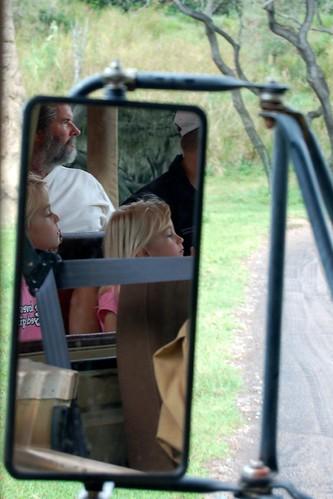 On Safari at Animal Kingdom...