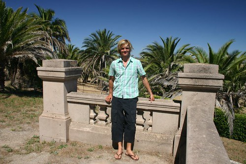 Me at the Seppelt Mausoleum in the Barossa Valley
