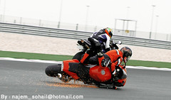 !   ..   (!  ) Tags: fall bike race track day crash accident racing biker caughtintheact doha qatar sohail suhail    losail najem  quatar   lusail cercuit