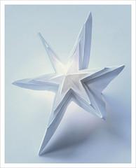 shining star (steffi's) Tags: christmas stella winter light paper season star origami december advent time craft led ornaments folded stern papier shining estrella weihnacht basteln origamistar 折紙 おりがみ 折り紙 abigfave origamistern
