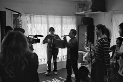 Gravant el videoclip dels Groullers