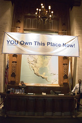 "Tribune Tower Lobby, ""YOU Own This Place Now!"""