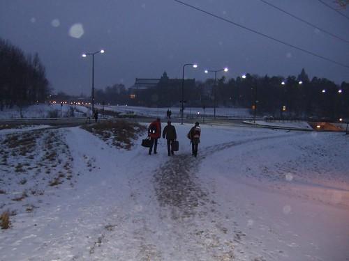 On the way to Universitetet