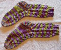 Dragonfly Socks