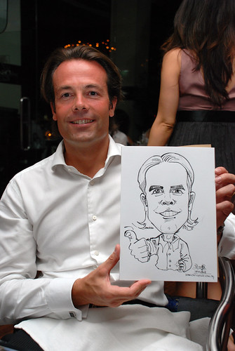 Caricature birthday party 190108 1