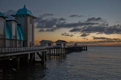 Pier Dawn (wentloog) Tags: southwales wales architecture sunrise canon eos dawn cymru 5d welsh penarth penarthpier canoneos5d ef24105f4l wentloog welshflickrcymru stevegarrington