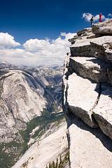 View from The Top (Leviathor) Tags: california travel people bravo yosemite halfdome yosemitenationalpark hikers roadtrip2006 mywinners anawesomeshot fiveflickrfavs