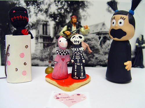 I would like to present Skelly & Sakura Poppet!