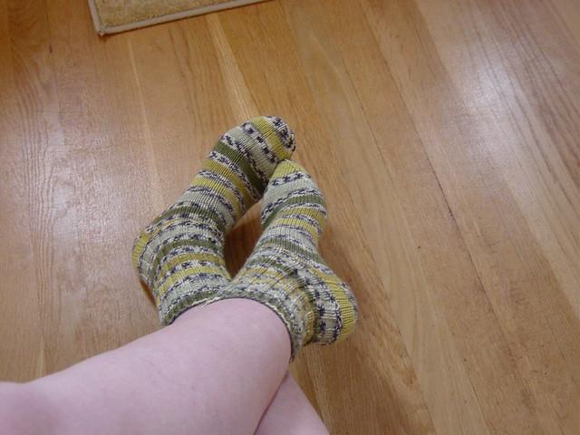 February Frog Socks by suefaye13350