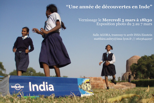 Expo photo Inde - vernissage