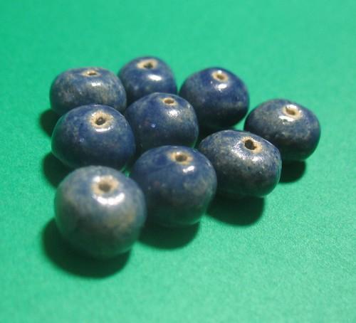 Lapis Blue Beads