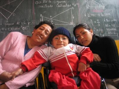 Juan Prudencio Mori y familia