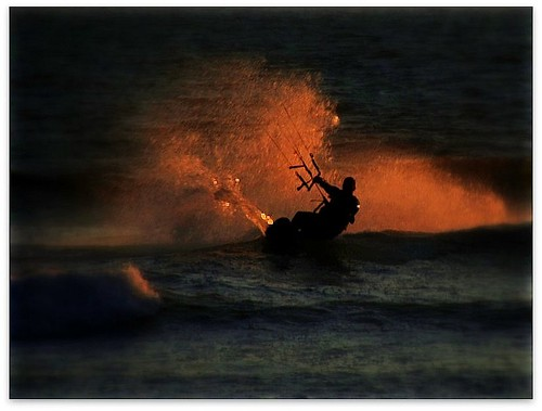 Kite Surfer @ Sunset