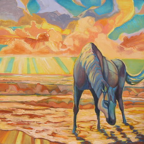 Horse With No Name_24x24