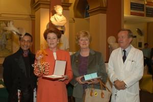 Louis Mariette, Lady Anson, Lady Neubert & Dr Hughes