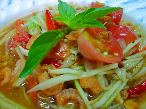"Thai Food with LoVE..LOvE... for you...""Green PaPaYa Salad"""