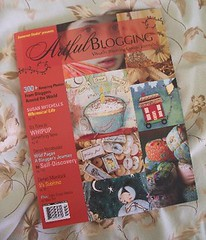artful blogging summer 08 cover by Holly Abston