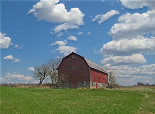 Red Barn, Blue Sky