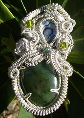 Sculptured Wire Pendant