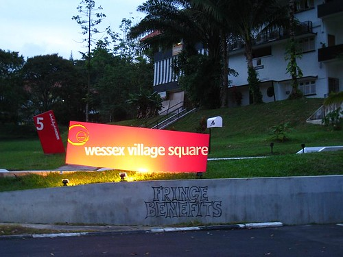 Wessex Village Square Signboard