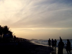 Parguito Beach sunset (jmven) Tags: sunset beach canon de rebel venezuela playa margarita isla parguito mosquera xti