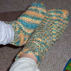 South Bay Crochet - Toes Up Crochet Sock Pattern