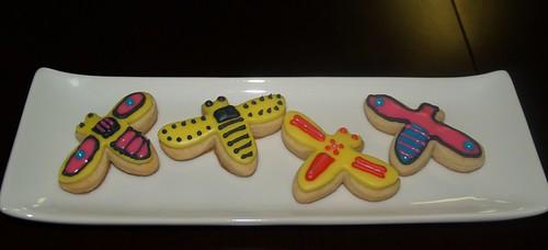 Spring cookies_Bumblebees