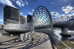 Webb Bridge (Wojtek Gurak) Tags: architecture australia melbourne webbbridge dcm dentoncorkermarshall flickrelite