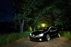 Weird NJ - Skillman Village (Ronaldo.S) Tags: light green abandoned beauty vw painting weird scary nikon village dish air nj creepy tokina bags gti rs bbs f28 slammed skillman alienbees d90 b800 1116mm