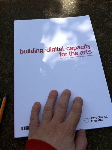 Building Digital Capacity for the Arts