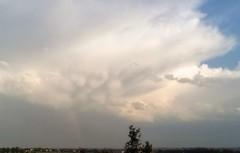 blanche (stranger_bg) Tags: blue sky sun nature colors clouds rainbow photos magic picture cielo blanche