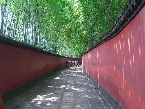 Passage through a Bamboo Forest - 文侯祠 Wenhou Ci Park