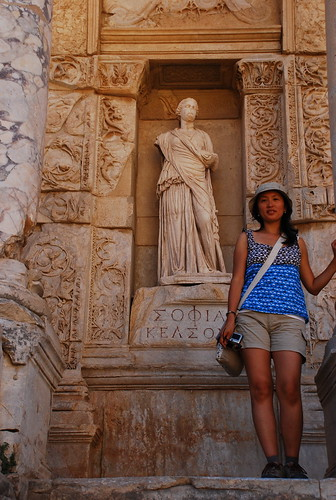 the ruins of Ephesus (Efes)