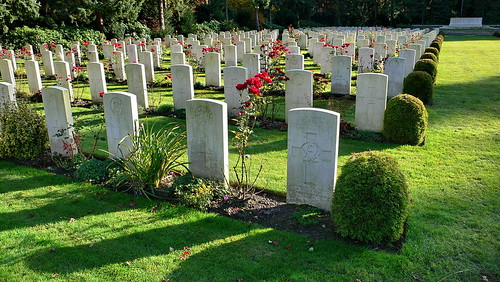 Friedhof Ohlsdorf in Hamburg - War Cemetery