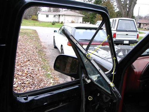 1994 F150 Triangle Window Removal Ford Truck