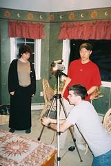 The $ Shot (blue_william) Tags: film video classmates movies shooting projects sets walton shortfilms filmshooting studentfilms katechopin thestoryofanhour narrativeinfictionandfilm
