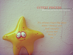 i wonder if ......? (CUTEST PRINCESS) Tags: me star princess you think worried miss cutest