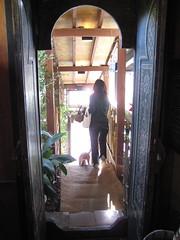 カフェ芽亜里の入り口