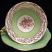 Foley Bone China Floral Teacup & Saucer