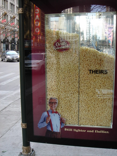 Orville Redenbacher Popcorn Ad, State Street, Chicago