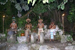 Msicos Xcaret (chblet) Tags: mxico maya xcaret msicos 100 chablet