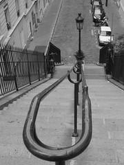 (luzam) Tags: bw paris scale stairs bn parigi escaliers bwartaward