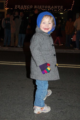 Leda at the Holiday Parade