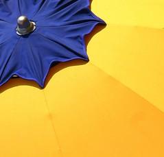 For Claudia M (Kathy~) Tags: blue italy beach yellow umbrella minimal explore cw thepinnacle bigmomma photofaceoffwinner pfogold challengew yourock2nd thepinnaclehof tphofweek6