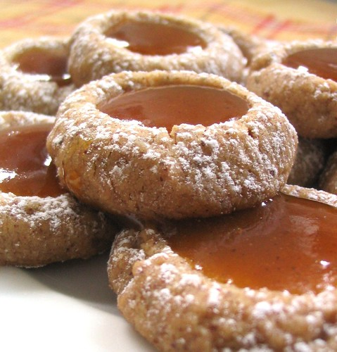 Pumpkin Butter Thumbprints