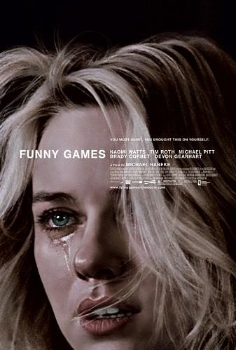 Poster Funny Games Michael Haneke Naomi Watts Tim Roth