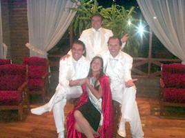 CRI-PA-CHE junto a la 1ra. Princesa de la 52º Fiesta nacional del Maní -Gimena Giorgetti-