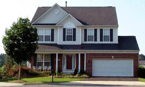 Suburban McMansion... bought with the Mortgage Interest Deduction?