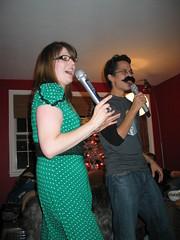 Christmas Karaoke (Indiana Joanna) Tags: christmas sharif lacey