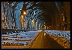 Tunnel inside (Michael Erhardsson) Tags: track rail railway tunnel inside jrnvg rls botniabanan llovemypic